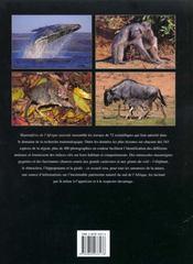 Complete Book Of Southern Africa Animals - 4ème de couverture - Format classique