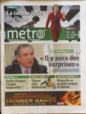 Metro Paris N°2174 du 14/03/2012 - Couverture - Format classique