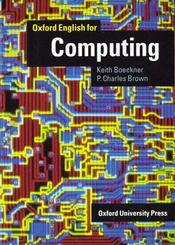 Vente  Oxford english for computing: student's book  - Brown