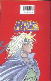 Rave t.11 - 4ème de couverture - Format classique