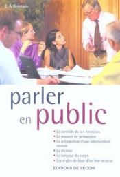 Parler En Public - Intérieur - Format classique