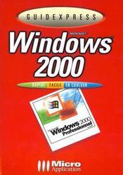 Guidexpress windows 2000 - Intérieur - Format classique