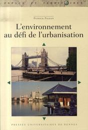 L'environnement au défi de l'urbanisation - Intérieur - Format classique
