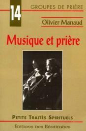 Musique Et Priere - Couverture - Format classique