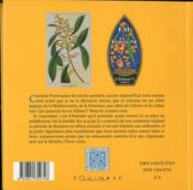 Petite anthologie du mimosa - 4ème de couverture - Format classique
