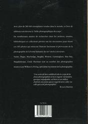 Corps - 4ème de couverture - Format classique