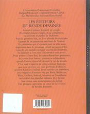 Entretiens Avec Les Editeurs De Bande Dessinee, Entretiens Avec Thierry Bellefroid - 4ème de couverture - Format classique