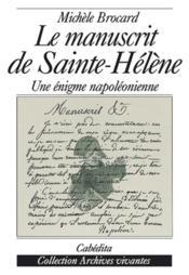 Manuscrit De Sainte-Helene (Le) - Couverture - Format classique
