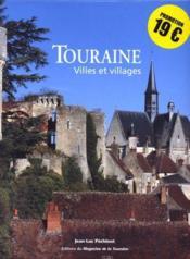 Touraine, villes et villages - Couverture - Format classique