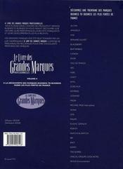 Le livre des grandes marques professionnelles t.2 ; à la découverte des marques business to business - 4ème de couverture - Format classique