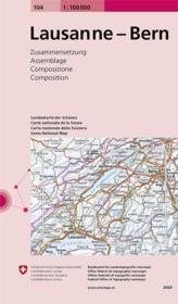 Lausanne - Bern - Couverture - Format classique