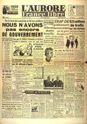 Aurore France Libre (L') N°1235 du 02/09/1948 - Couverture - Format classique