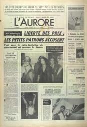 Aurore (L') N°10868 du 27/08/1979 - Couverture - Format classique