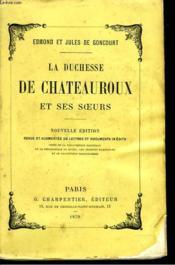 La Duchesse De Chateauroux Et Ses Soeurs - Couverture - Format classique