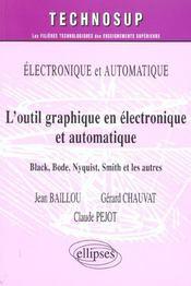 Electronique Et Automatique L'Outil Graphique En Electronique Et Automatique Black Bode Nyquist - Intérieur - Format classique