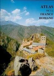 Atlas De La France Romane - Couverture - Format classique