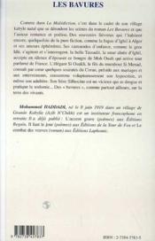 Les Bavures - 4ème de couverture - Format classique