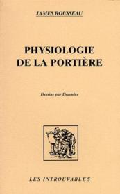 Physiologie de la portière ; dessins par Daumier - Couverture - Format classique