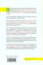Reinventer Le Marketing - Faire Face A La Prise Depouvoir Du Consommateur - 4ème de couverture - Format classique