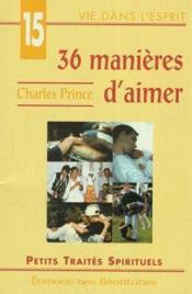 36 Manieres D'Aimer - Couverture - Format classique