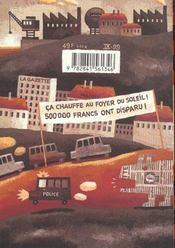 Les Chiens Ecrases - 4ème de couverture - Format classique