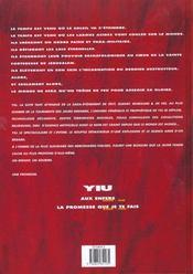 Yiu t.2 ; la promesse que je te fais - 4ème de couverture - Format classique