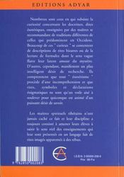 Initiations Lamaiques - 4ème de couverture - Format classique