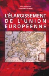 L'élargissement de l'Union Européenne - Couverture - Format classique