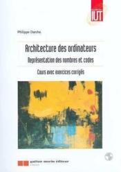 Architecture Des Ordinateurs - Couverture - Format classique
