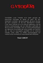 Gatoderi - 4ème de couverture - Format classique