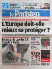 Parisien 75 (Le) N°20995 du 14/03/2012 - Couverture - Format classique