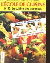 L'Ecole De Cuisine - Couverture - Format classique
