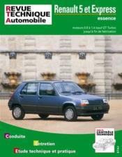 Rta 711.2 Renault 5 Et Express Ess.0.9 A 1.4 Fin Fab - Couverture - Format classique