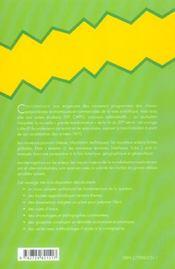 La mondialisation : génèse, acteurs et enjeux - 4ème de couverture - Format classique