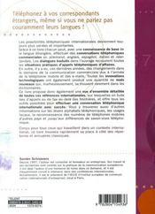 Comment téléphoner en entreprise en 6 langues - 4ème de couverture - Format classique