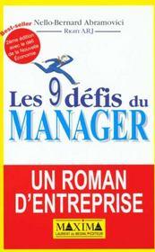 9 Defis Du Manager 2ed - Intérieur - Format classique