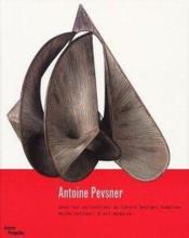 Antoine Pevsner - Couverture - Format classique
