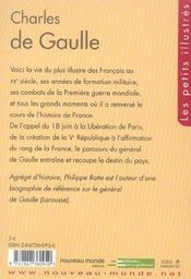 Charles de Gaulle - 4ème de couverture - Format classique