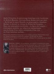 Dracula ; le mythe raconté par bram stocker - 4ème de couverture - Format classique
