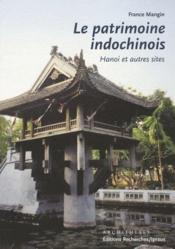 Le Patrimoine Indochinois - Couverture - Format classique