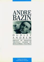 Andre Bazin - Couverture - Format classique