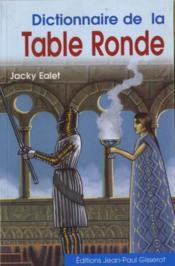 Dictionnaire de la Table Ronde - Couverture - Format classique