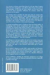 Les Oiseaux Ne Sont Pas Tombes Du Ciel N Ed - 4ème de couverture - Format classique