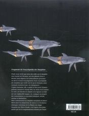 Fragments de l'encyclopedie des dauphins - 4ème de couverture - Format classique