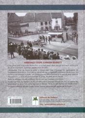 Coupe gordon bennett 1905 - 4ème de couverture - Format classique