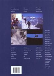 A La Conquete Des Sommets - 4ème de couverture - Format classique