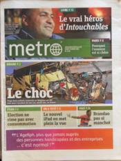 Metro Paris N°2175 du 15/03/2012 - Couverture - Format classique