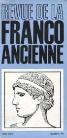 Revue De La Franco Ancienne N°191 - Couverture - Format classique