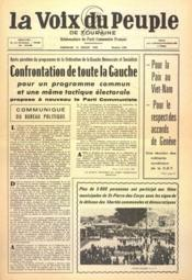 Voix Du Peuple De Touraine (La) N°1304 du 24/07/1966 - Couverture - Format classique