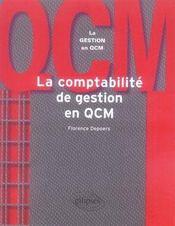 La comptabilité de gestion en qcm - Intérieur - Format classique